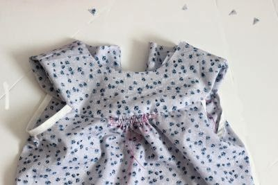 Sew nightie yoke free pattern