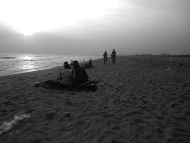 CA - la plage - cotonou / Benin
