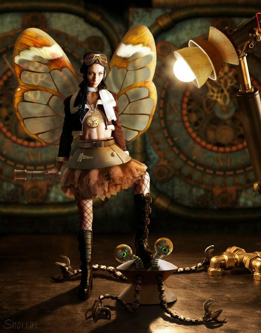 17-Steampunk-Faerie-Debra-Mason-Shorra-Surreal-Digital-Micro-Universes-www-designstack-co
