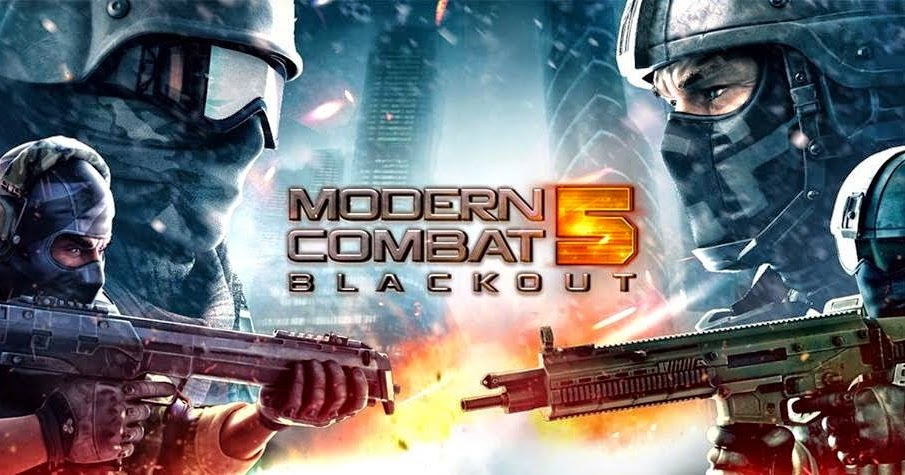 Free Download Game Modern Combat 5 Blackout 1.2.0o Mod Apk