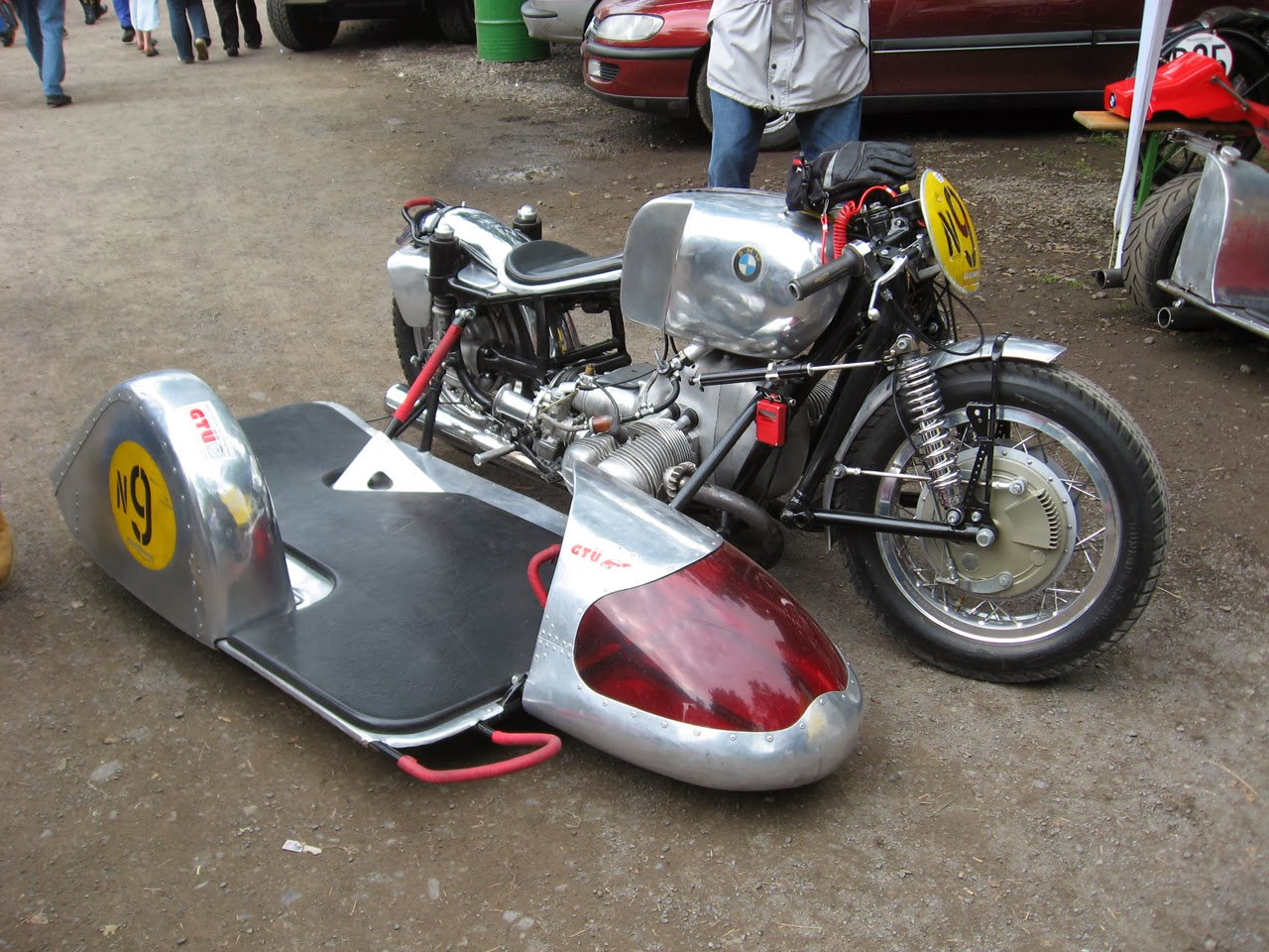 Cafe Racer With Sidecar For Sale