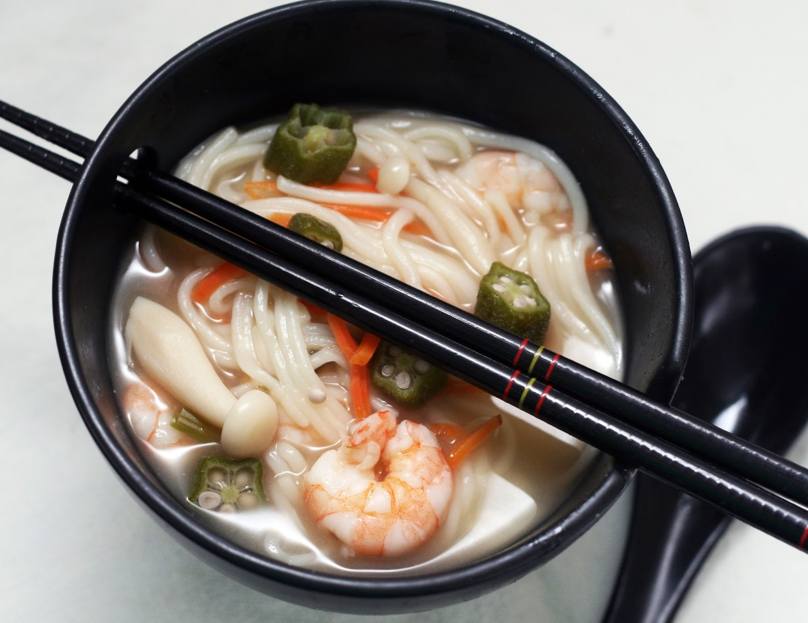 Seafood Miso Noodle Soup Recipe — Dishmaps