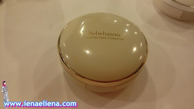 Sulwhasoo Perfecting Cushion Brightening workshop