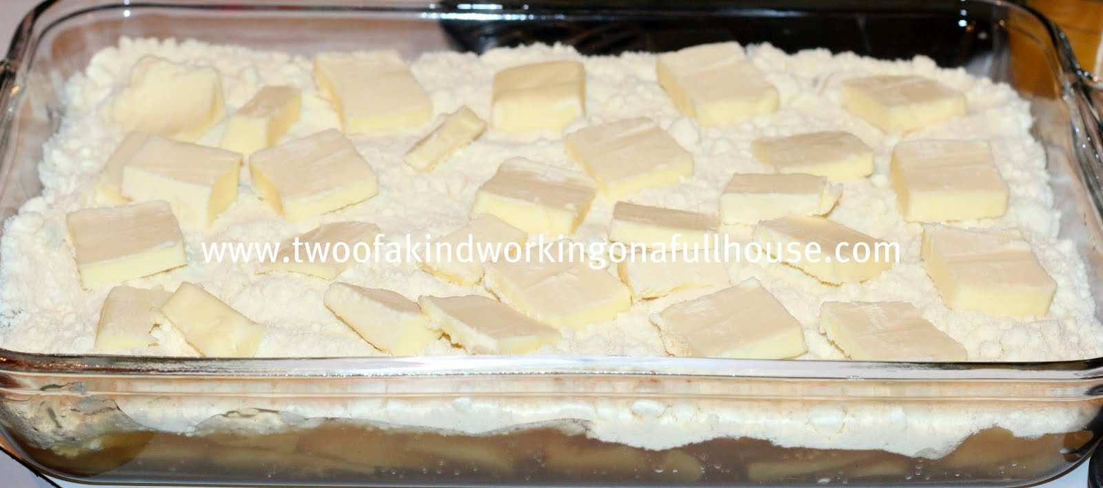 Apple Cobbler Using Pie Filling And Cake Mix