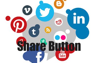 Cara membuat Tombol share Facebook, Twitter, Google+ di blog yang Keren