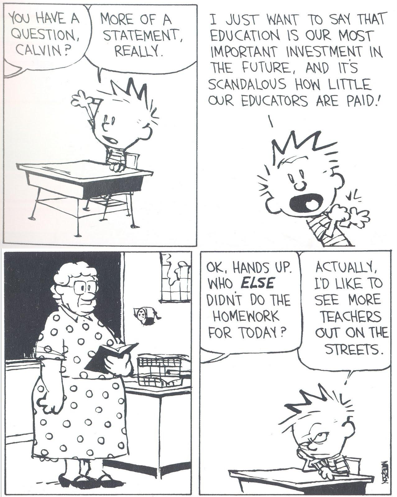 Savvy And Sage Calvin And Hobbes Teachers
