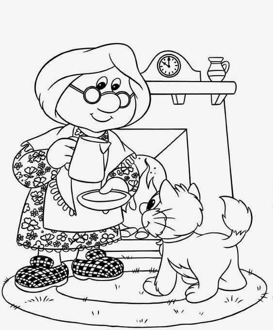 Dibujos para colorear. Maestra de Infantil y Primaria.: Pat el ...
