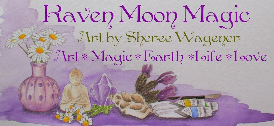 raven moon magic