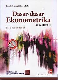 toko buku rahma: buku DASAR-DASAR EKONOMETRIKA BUKU 2, pengarang damodar n gujarati, penerbit salemba empat