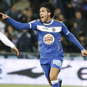 Dani Parejo playing in Getafe jersey