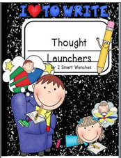 http://www.teacherspayteachers.com/Product/Thought-Launchers-Packet-1-828712