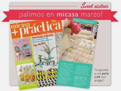 mi casa febrero 2014 sweet sixteen craft store