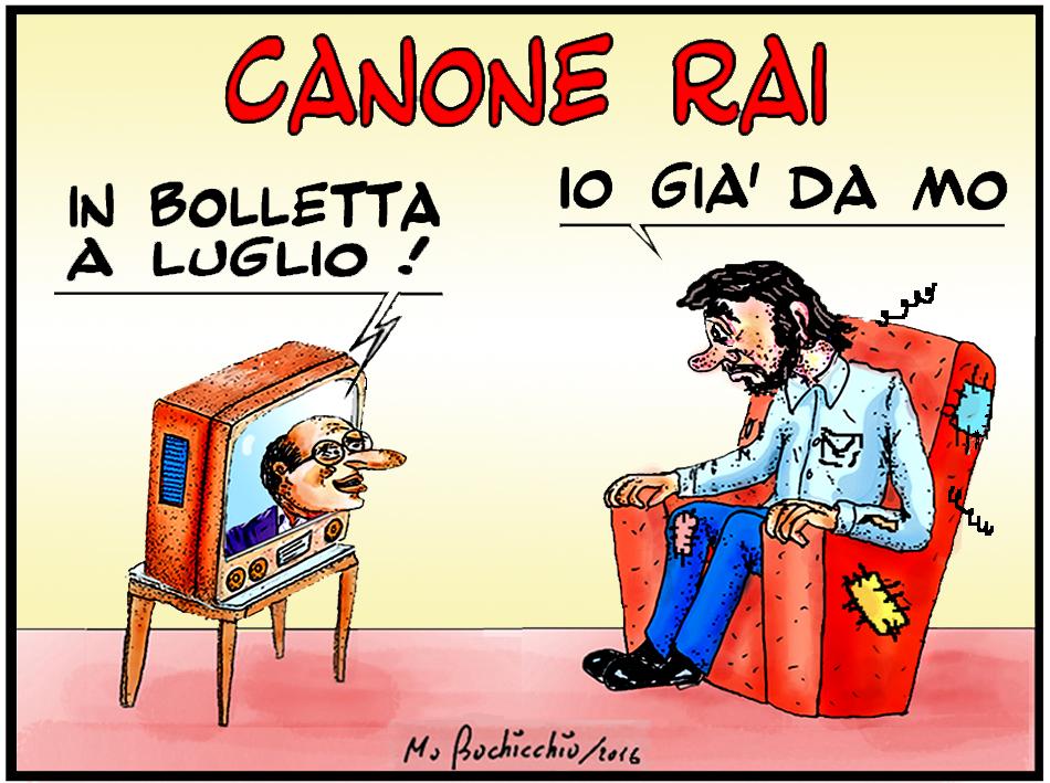 Mario bochicchio canone rai for Costo canone rai 2017