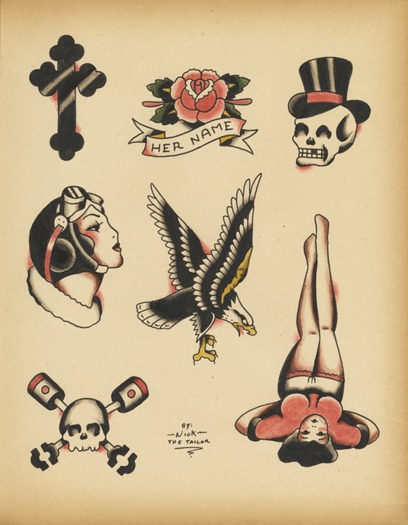 Old school pin up girl tattoos tattoos for girls 2016 for Old school pin up tattoos