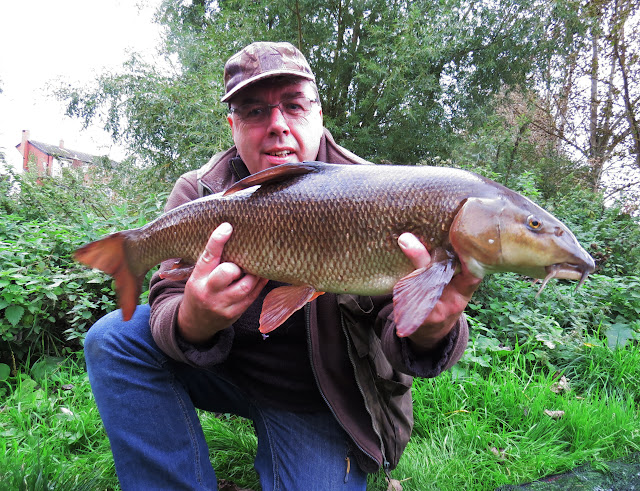 Double figure Warwickshire Avon barbel at 10lb 14oz