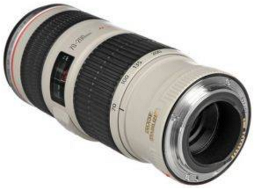 Canon Lensa EF 70-200mm f/4L IS USM - Hitam