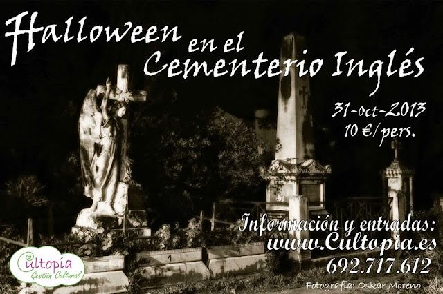 Halloween en el Cementerio Inglés, Málaga