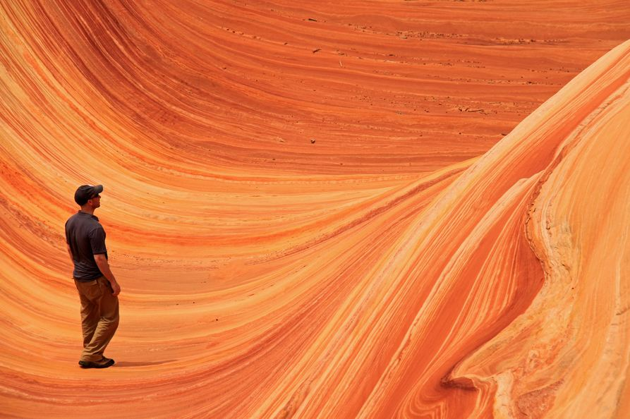 The Wave, Coyote Buttes, USA