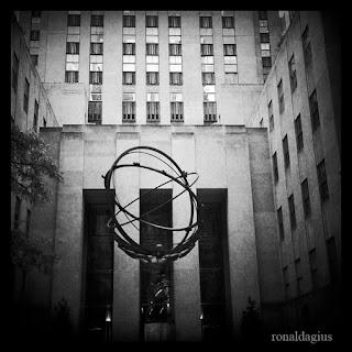 The Atlas Statue on 5th Avenue New York City