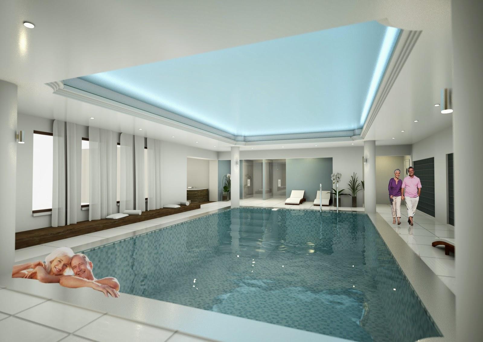 basen w New Skanpol - wizualizacja