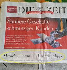"""""""DIE ZEIT"""" lässt Merkel fallen"""
