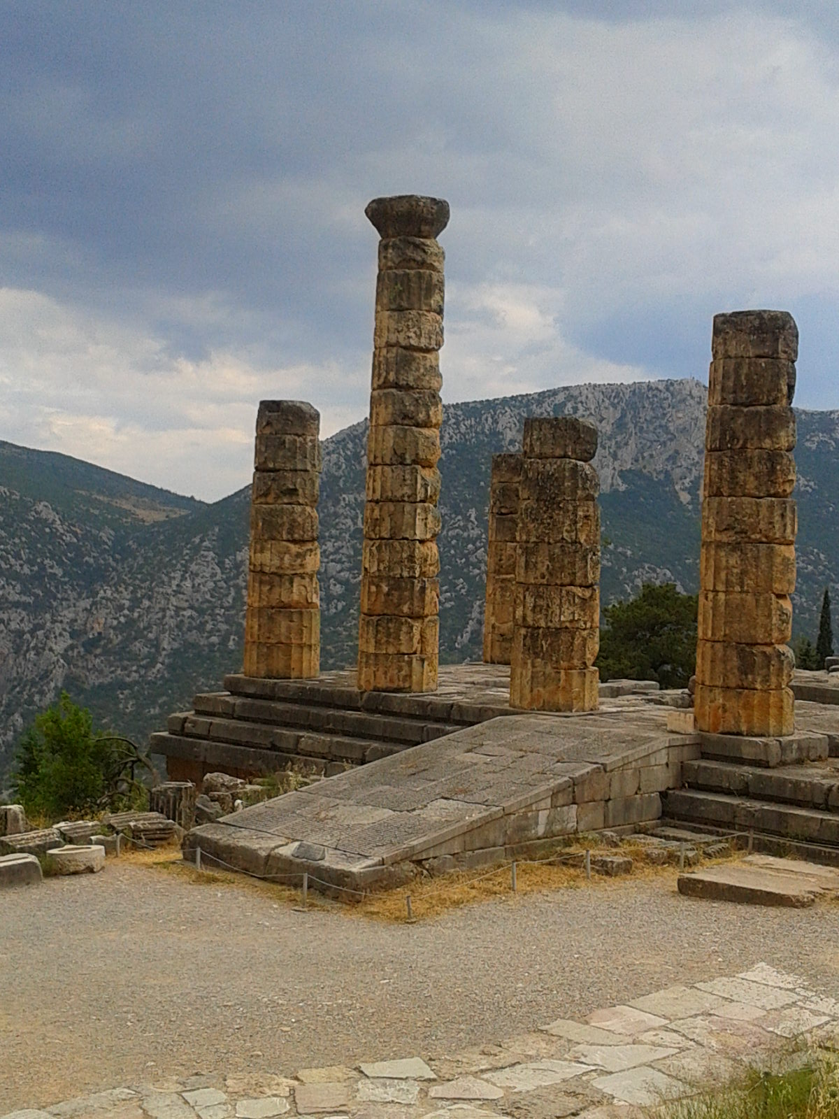The Temple of Apollo in Delphi - Click Image Below to Follow Link: