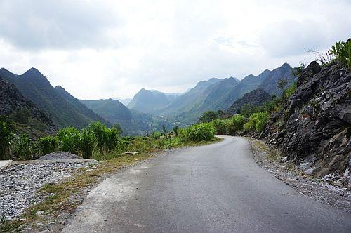 đường hạnh phúc tại Hà Giang