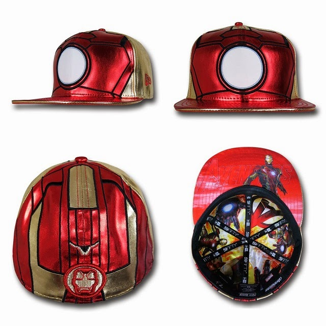 Marvel's Avengers Age of Ultron Armor 59Fifty Cap Collection by New Era - Iron Man