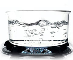 Resultado de imagen de El agua hierve a los 100 grados
