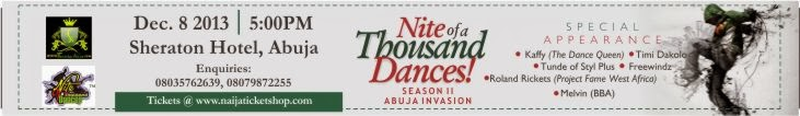 NITE OF A THOUSAND DANCES