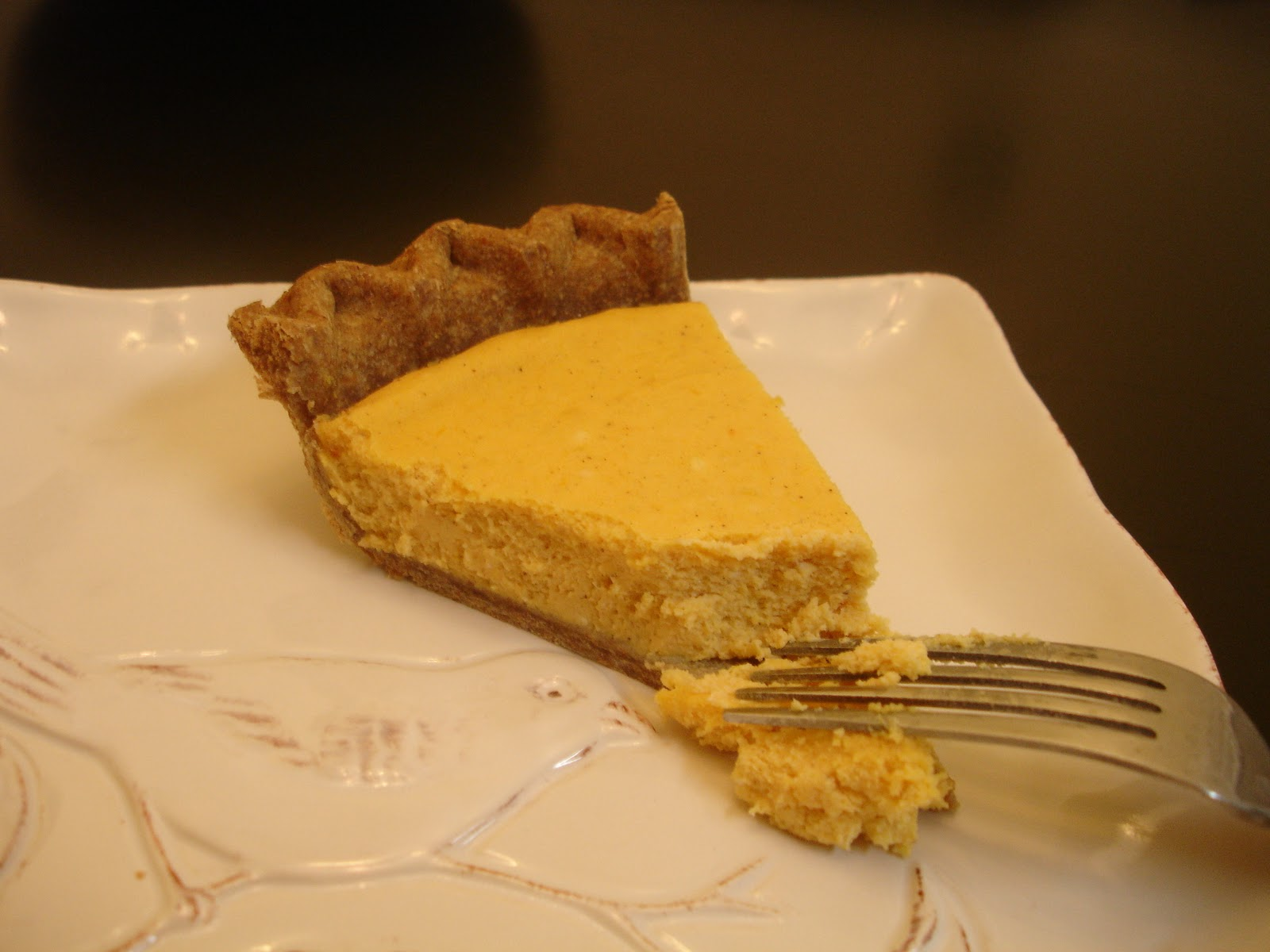 Don't Disturb This Groove: Sweet Potato Cheesecake