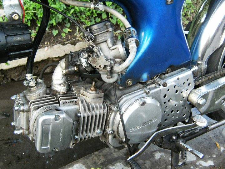 Motor Modifikasi Honda 70