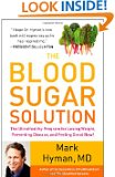 The Blood Sugar Solution by Mark Hyman book cover