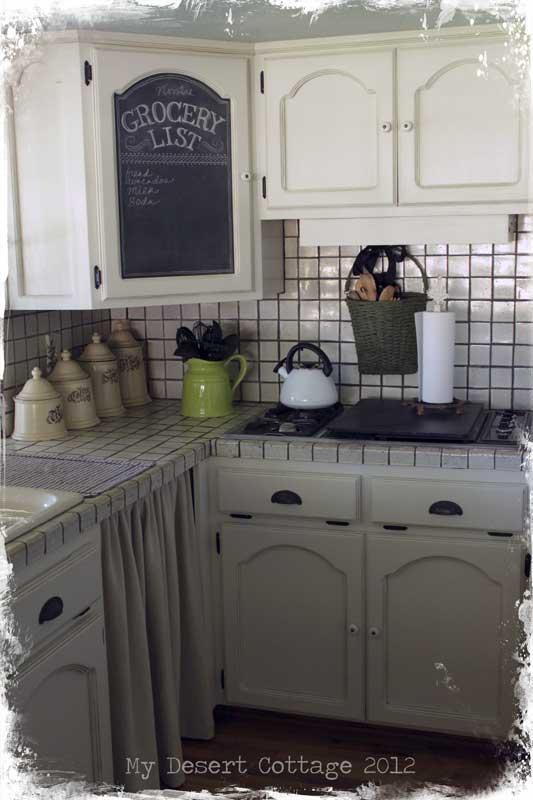 My Desert Cottage Chalk Board Love In The Kitchen