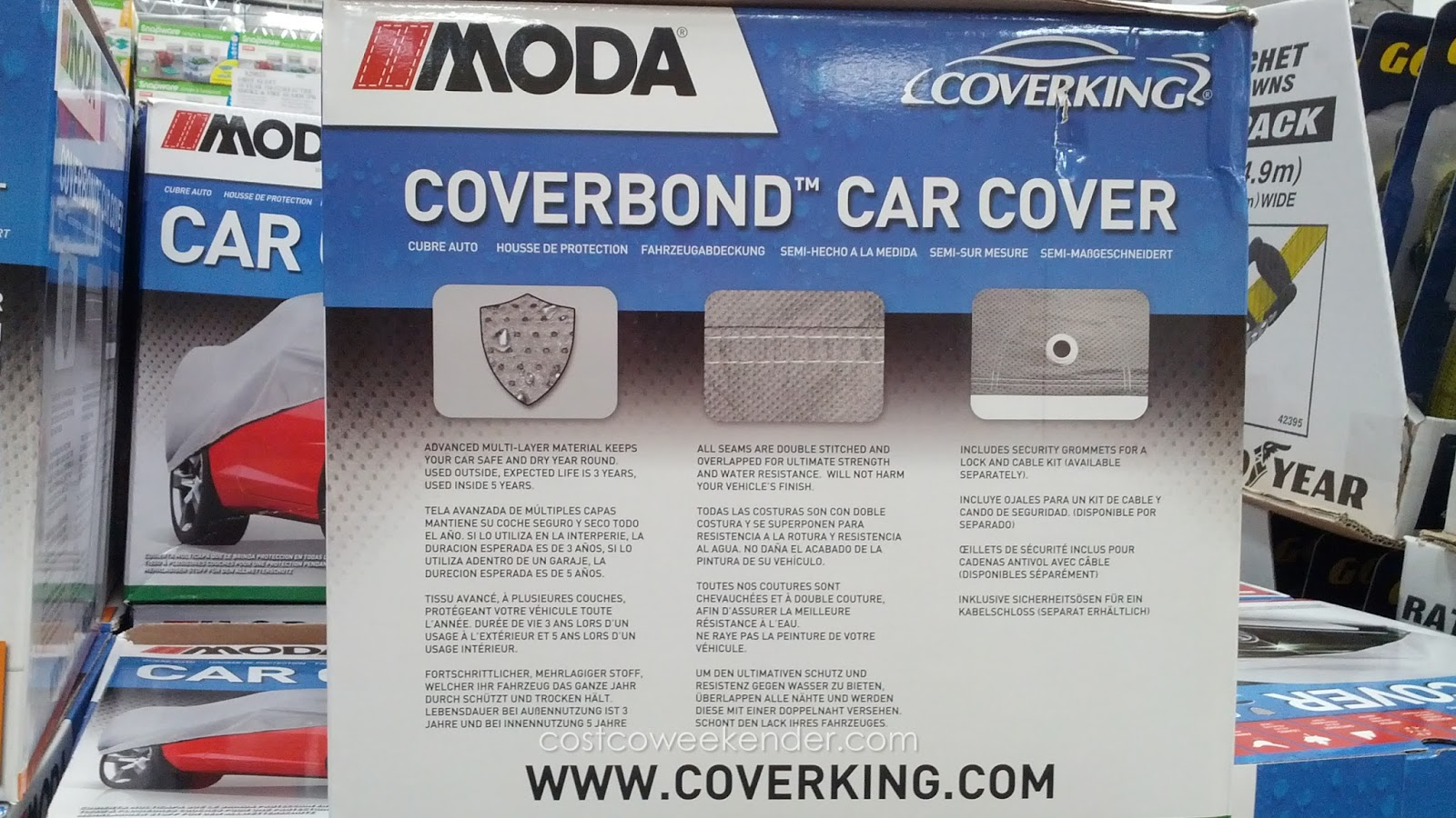 Moda Car Covers Costco