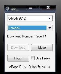 ePaperDL v1.0 – Epaper Downloader
