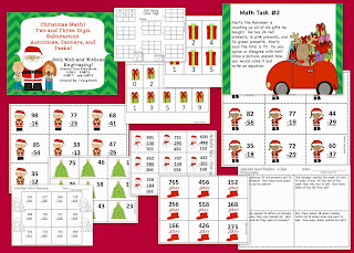 http://www.teacherspayteachers.com/Product/Christmas-Math-Subtraction-withwithout-Regrouping-Centers-and-Math-Tasks-992246