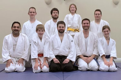 Aikido Mushinkan Class Photo Dec 2013