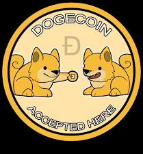 Aquí aceptamos y damos Dogecoins