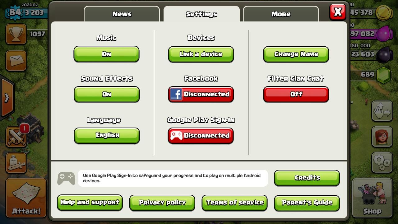 Bermain 2 Akun Clash Of Clan Di Hp Android Yang Sama
