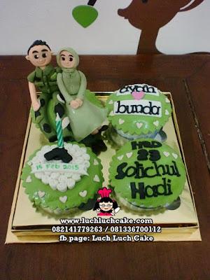 Cupcake Tentara Daerah Surabaya - Sidoarjo