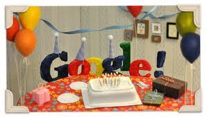 Selamat Ulang Tahun Ke-13 Google