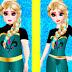 Elsa do Frozen va al gimnasio