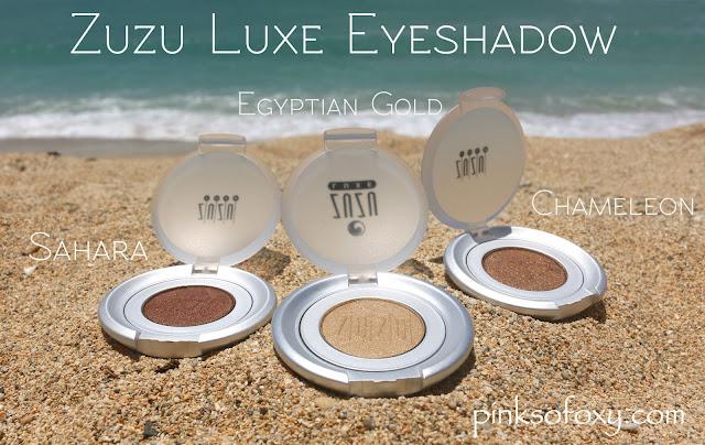 Zuzu Luxe Cruelty free Eyeshadow