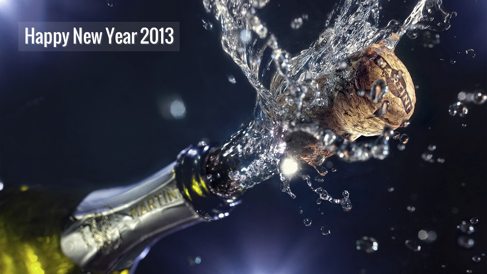 Happy New Year Splash