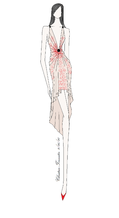 Fashion Illustration (paint software)Art, Fashion, fashion illustration, My design. I drew this using