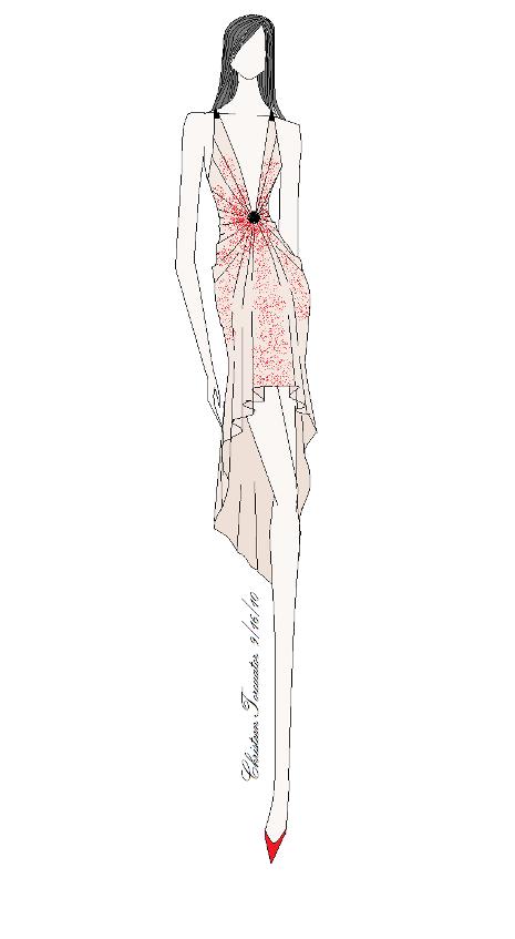 Fashion Illustration (paint software)Art, Fashion, fashion illustration, My design. I drew this using