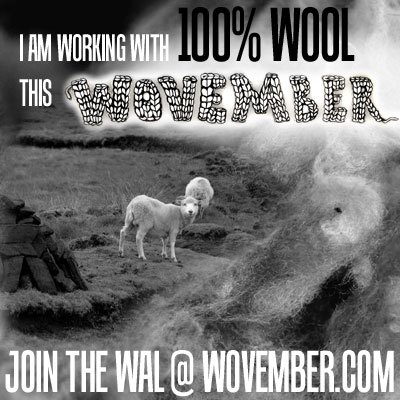 I'm supporting Wovember