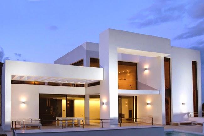 casa moderna en alicante minimalistas 2015