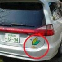 Para que servem esses adesivos usados nos carros no Japão?